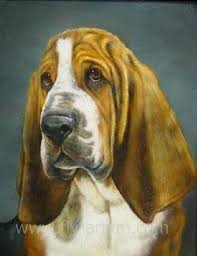 dog paintings on canvas