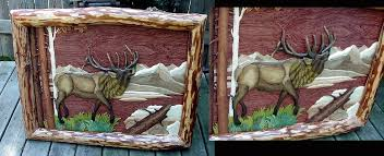 intarsia wood art