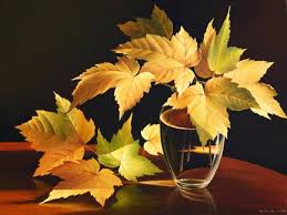 paintings of leaves