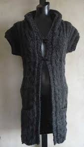knitted vest patterns