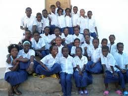 kids in school uniforms