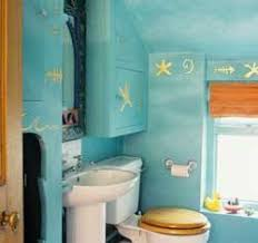 bathroom beach decor