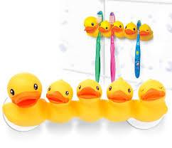 duck toothbrush holder