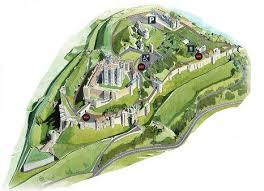 layout of a castle