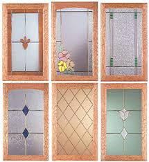 glass cabinet fronts