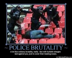 pictures of police brutality