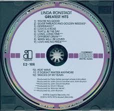 linda ronstadt cd