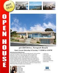 open house flyer sample