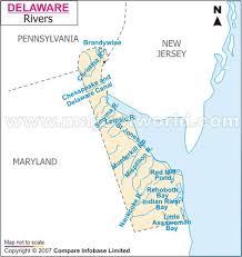 delaware river map