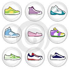 icons shoes