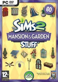 sims 2 mansion garden