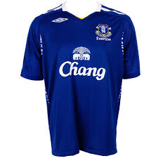 everton football kit