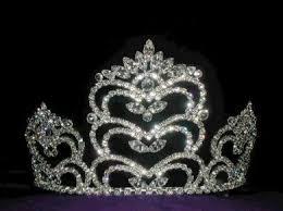 plastic princess crown
