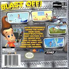 jimmy neutron boy genius game
