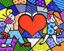 romero britto heart kids