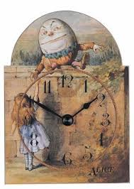 alice in wonderland clocks