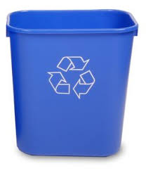 office recycle containers