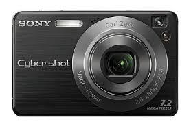 sony digital camera w110