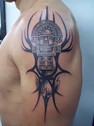 tatuajes aztecas y mayas