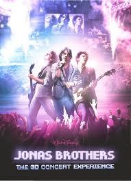 jonas brothers 3d movie poster