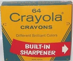 crayola crayons box