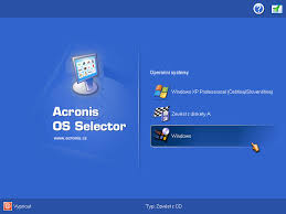 acronis bootmanager