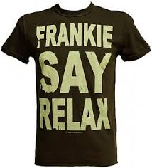 frankie goes to hollywood relax t shirt