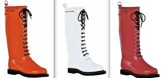 hot rain boots