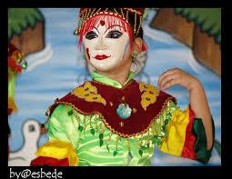 dancer mask