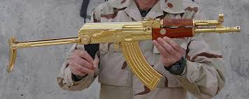 gold plated ak