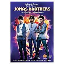 jonas brothers dvds