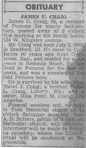obituary news paper