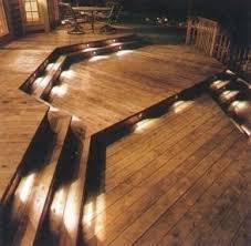garden decking lights