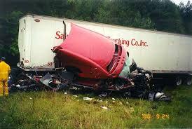 camiones chocados