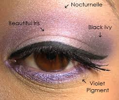 eyeshadow applying