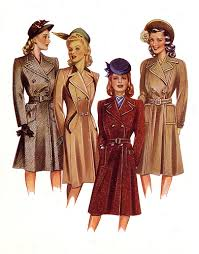 fashion in the forties