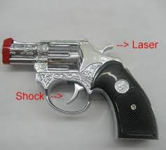 laser pointer gun