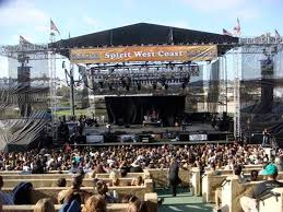 outdoor concert stages
