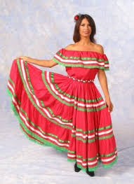mexican lady costume