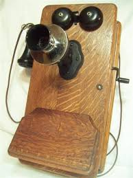 old fashioned wall phone