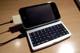 iphone with keyboard