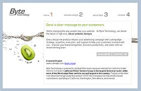 clean website designs