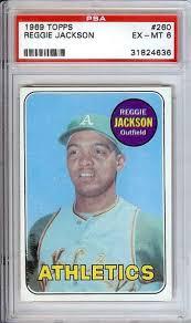 reggie jackson card