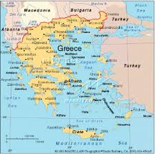map of greece and turkey