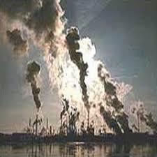 polluting air
