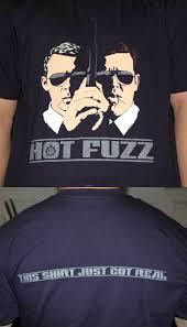 hot fuzz t shirt