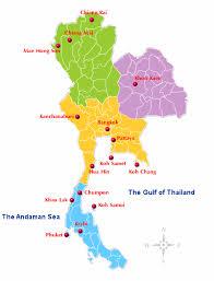 thailand travel map