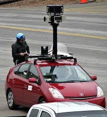 google maps street view vehicle