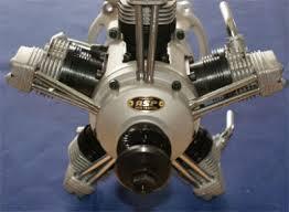 radial rc engine