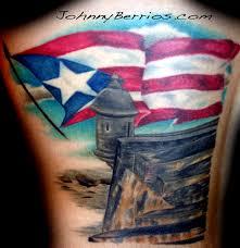 puerto rico flag tattoos